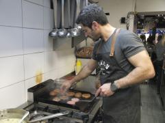 Mason gourmet burgeri @Duck Fast Bistro (photo by SZ)