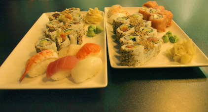 Ginger Sushi - All you can eat (photo by SZ)