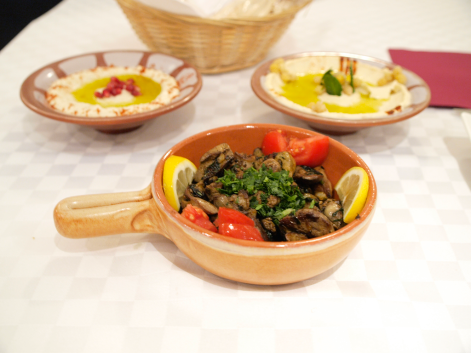 Habibi - pileća jetrica (photo by SZ)