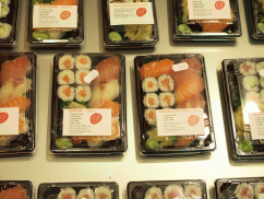 Ginger Sushi - Take Out (photo by SZ)