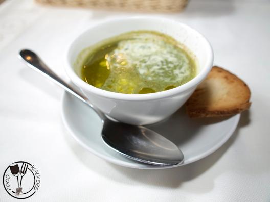 Krem juha od šparoga u čikari (photo by SZ)