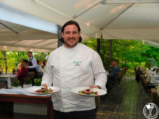 Balon, chef Stipan Iličić (photo by SZ)