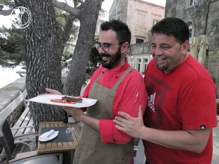 Restoran LD: Marko Gajski i Dražen Matković (photo by SZ)