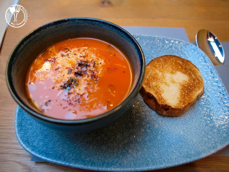 Haustor Haus, juha od rajčice