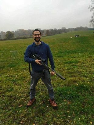 Matija Bogdan u lovu