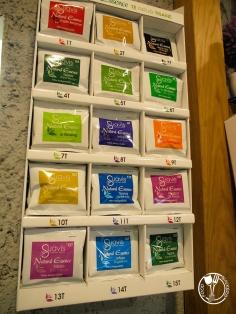 Servus - knedle s potpisom: izbor čajeva (photo by SZ)